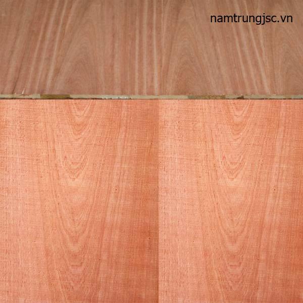 gỗ ghép veneer xoan đào