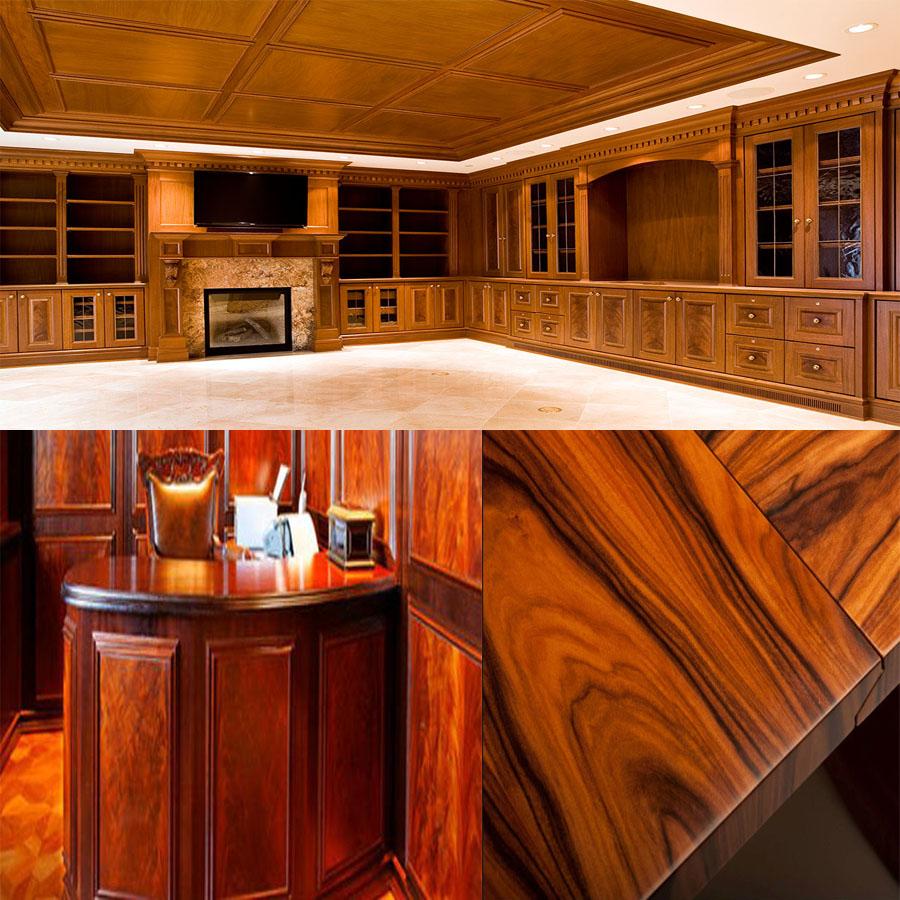 đồ gỗ nội thất phủ veneer