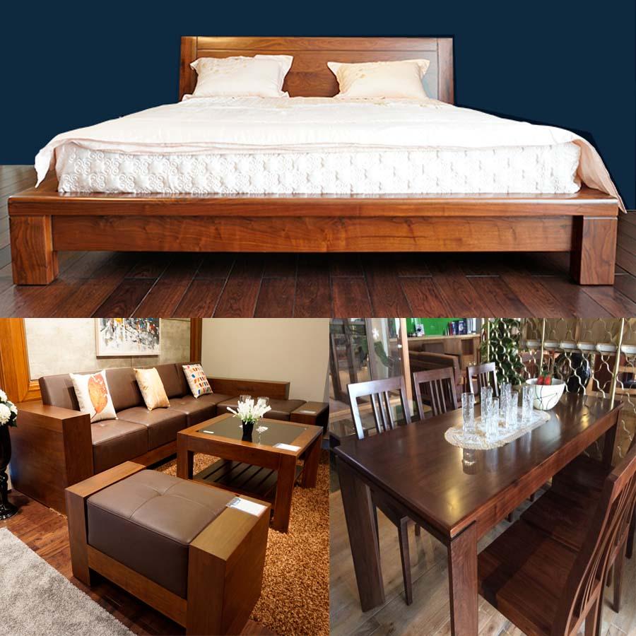 đồ gỗ nội thất, gỗ tự nhiên, gỗ công nghiệp