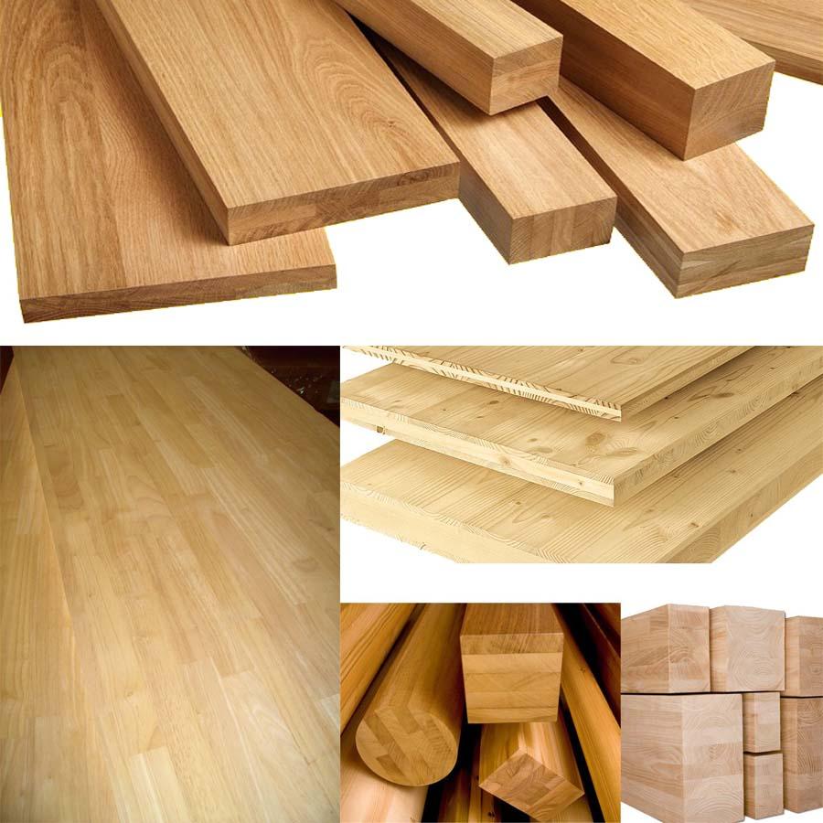 gỗ tự nhiên ghép thanh